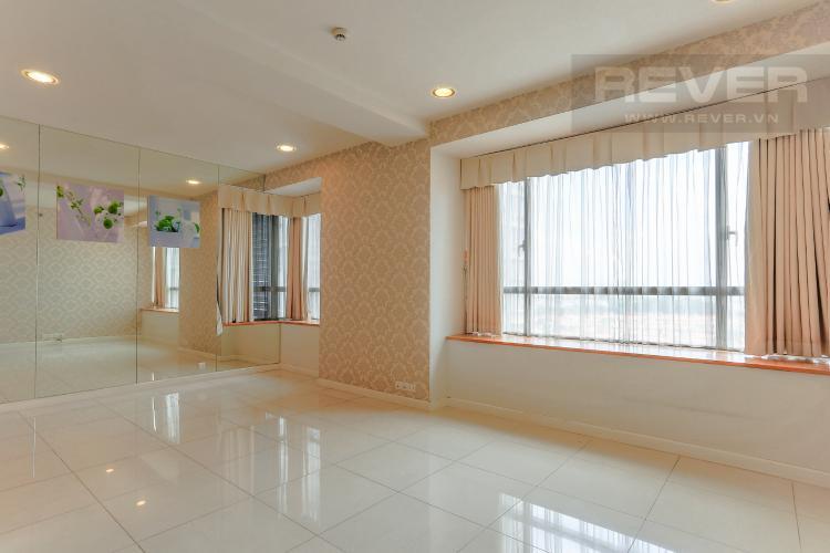 Phòng Khách Căn hộ Sunrise City tầng thấp tháp V6 khu South, 2 phòng ngủ, nội thất cơ bản.