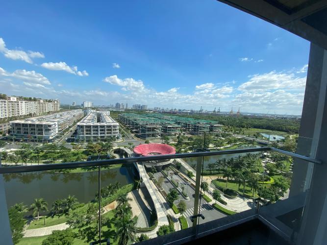 View Sarimi Sala Đại Quang Minh, Quận 2 Căn hộ Sarimi Sala Đại Quang Minh tầng trung, view nội khu sông.