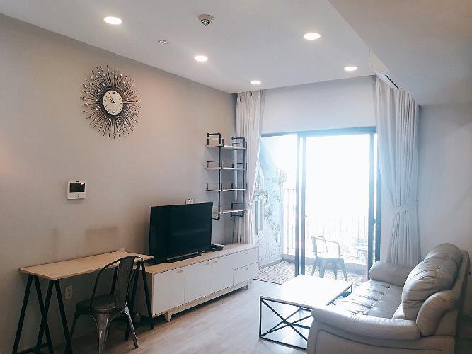 phòng khách căn hộ Masteri Thảo Điền Căn hộ Masteri Thảo Điền tầng trung, ban công hướng Bắc.