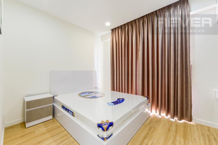 Phòng ngủ 2 Cho thuê căn hộ Masteri Millennium tầng cao 2PN đầy đủ nội thất