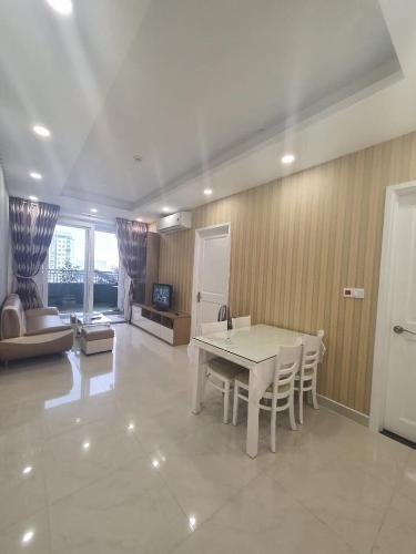 phòng khách căn hộ sài gòn mia Cho thuê căn hộ Saigon Mia đầy đủ nội thất, tiện ích cao cấp.