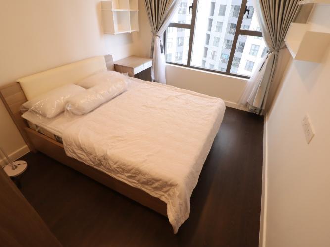 phòng ngủ căn hộ The Tresor Căn hộ tầng cao The Tresor nội thất đầy đủ view thành phố thoáng mát.