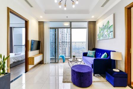 Căn hộ Vinhomes Central Park tầng cao, tháp Landmark 3, 3 phòng ngủ, full nội thất