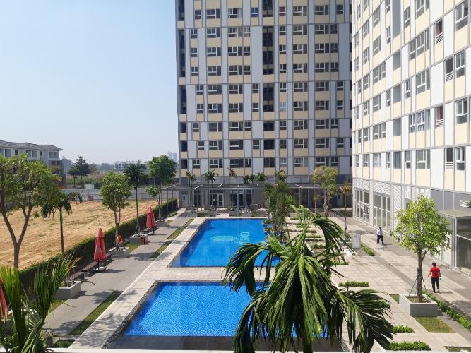 Tiện ích căn hộ CitiSoho Bán căn hộ CitiSoho, diện tích 54.7m2 - 2 phòng ngủ, tầng thấp, không có nội thất, cửa hướng Đông Nam.