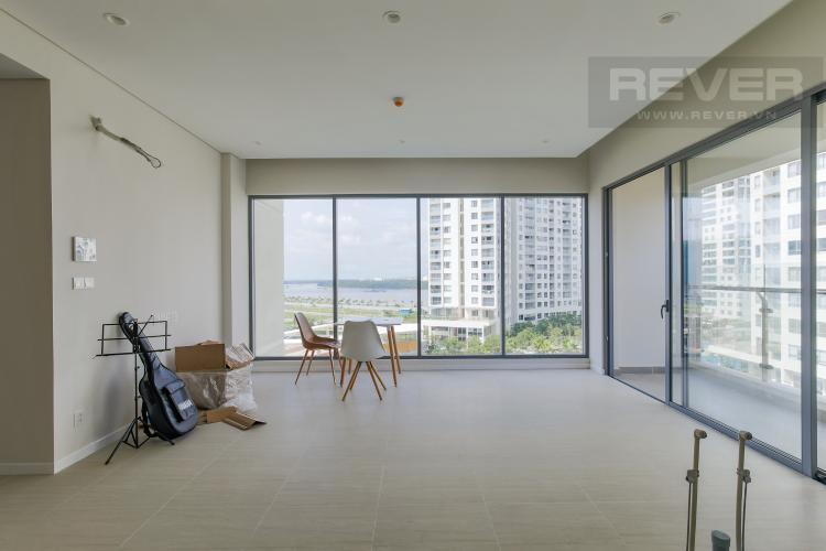 Phòng Khách Cho thuê căn hộ Diamond Island - Đảo Kim Cương 2PN, tầng trung, view sông thoáng mát
