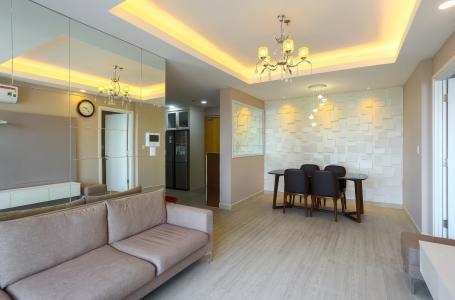 Căn hộ Masteri Thảo Điền tầng cao 3PN nội thất đầy đủ, view sông