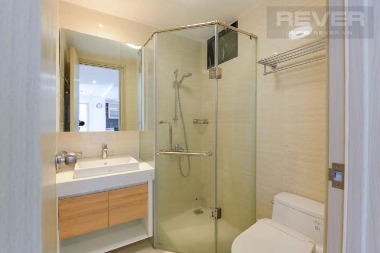 Toilet 1 Cho thuê căn hộ New City Thủ Thiêm 2PN, tháp Babylon, đầy đủ nội thất, view hồ bơi