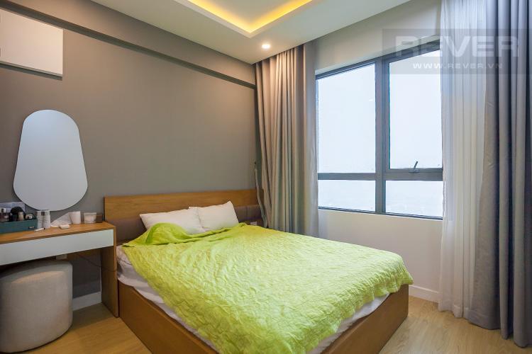 Phòng Ngủ 2 Căn hộ Masteri Thảo Điền 2 phòng ngủ tầng cao T4 nội thất đầy đủ