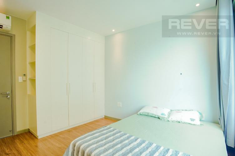 Phòng Ngủ 2 Cho thuê căn hộ The Gold View 2PN, tháp B, nội thất cơ bản, view rạch Bến Nghé