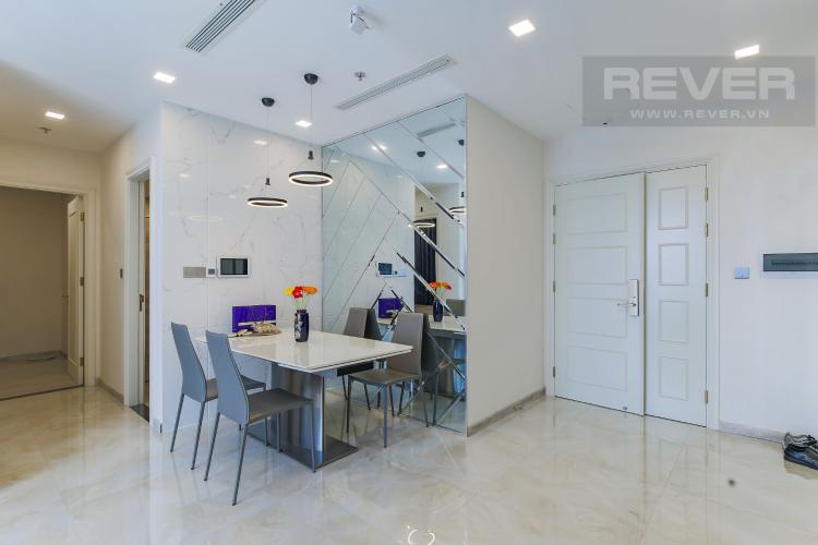 Bàn Ăn Bán căn hộ Vinhomes Golden River 2PN, tháp The Aqua 4, đầy đủ nội thất, view sông Sài Gòn và Landmark 81