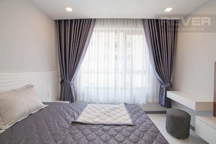 Phòng ngủ 1 Căn hộ The Gold View 2 phòng ngủ tầng trung A1 hướng Tây Nam