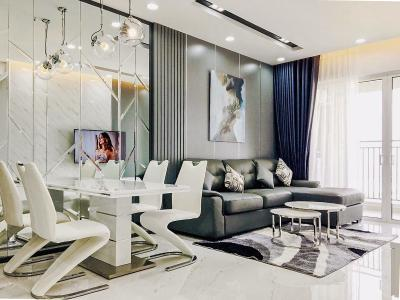Cho thuê căn hộ Sunrise CityView 3PN, tầng cao, diện tích 99m2, đầy đủ nội thất
