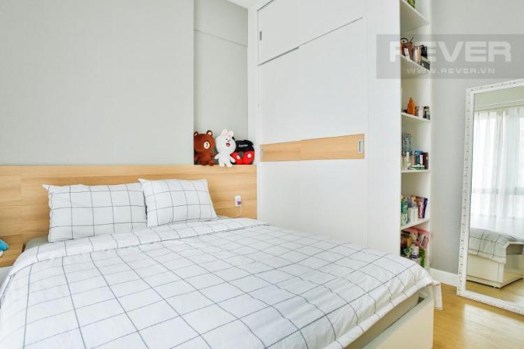 Nội thất phòng ngủ chính Căn hộ T4B Masteri Thảo Điền trung tầng hướng Tây