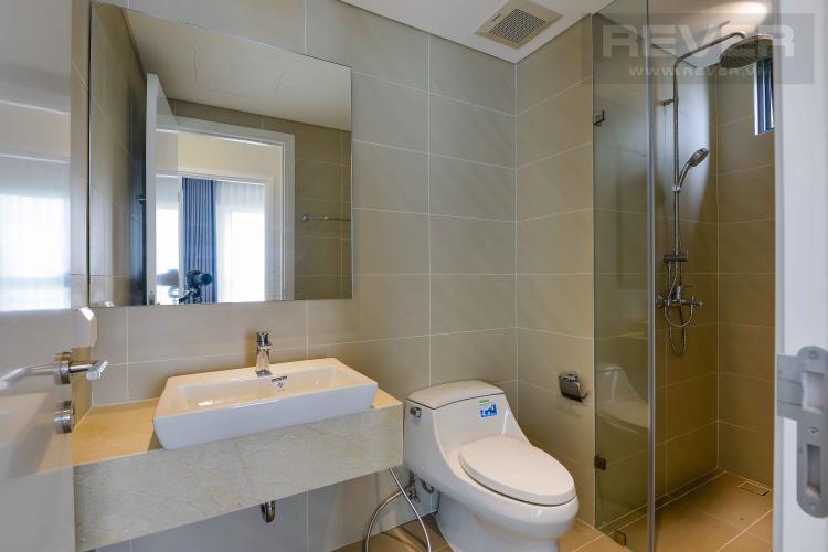 Toilet Cho thuê căn hộ Diamond Island - Đảo Kim Cương 1PN, tháp Canary, đầy đủ nội thất, view nội khu xanh mát