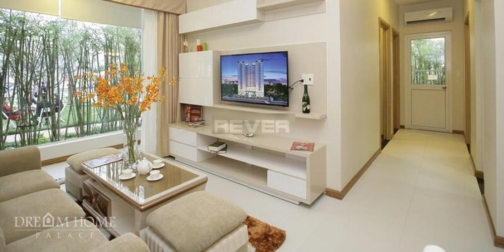 Phòng khách Dream Home Palace Quận 8 Căn hộ Dream Home Palace nội thất cơ bản, bàn giao cuối 2020.