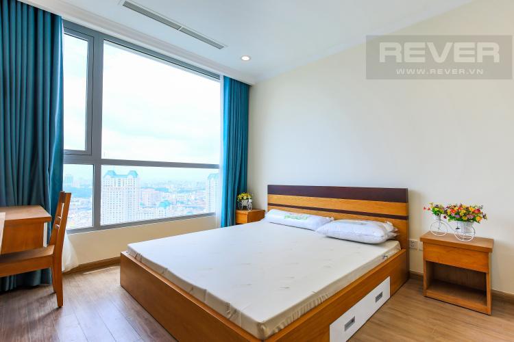 Phòng Ngủ 1 Căn hộ Vinhomes Central Park 3 phòng ngủ tầng cao L2 đầy đủ nội thất
