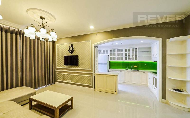 Phòng Khách Cho thuê căn hộ Sunrise City 2 phòng ngủ, hướng Nam, đầy đủ nội thất cao cấp