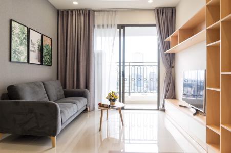 Cho thuê căn hộ Saigon Royal 2PN, diện tích 88m2, đầy đủ nội thất, view Bitexco