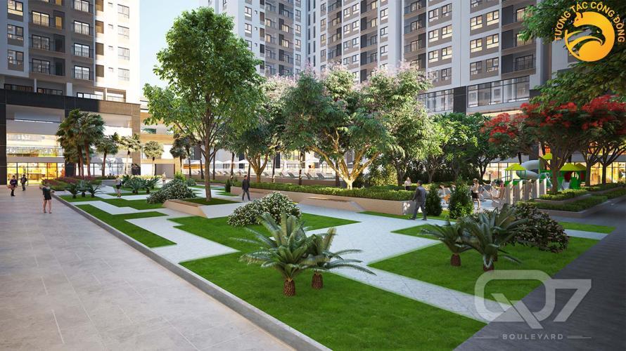 Tiện ích căn hộ Q7 Boulevard Bán căn hộ Q7 Boulevard tầng trung, view nội khu.