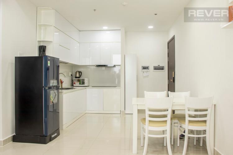 Phòng Bếp Bán căn hộ The Tresor 2PN, tầng cao, diện tích 57m2, đầy đủ nội thất