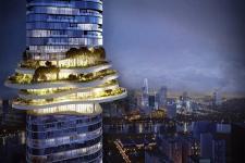 Empire 88 Tower: Thiên nhiên hoà quyện giữa lưng chừng mây