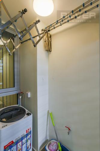 Logia Bán căn hộ Officetel Vinhomes Central Park 2 phòng ngủ tầng thấp tháp Landmark 3, đầy đủ nội thất cao cấp