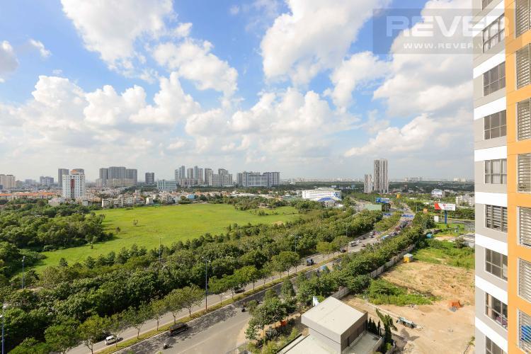 View Cho thuê căn hộ The Sun Avenue 3 phòng ngủ, diện tích 89m2, đầy đủ nội thất cao cấp