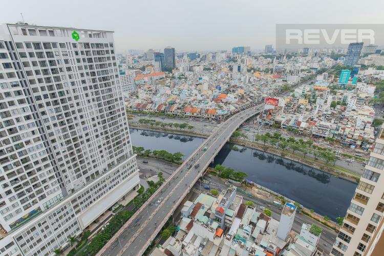 View Căn hộ Masteri Millennium tầng cao, 1PN nội thất đầy đủ