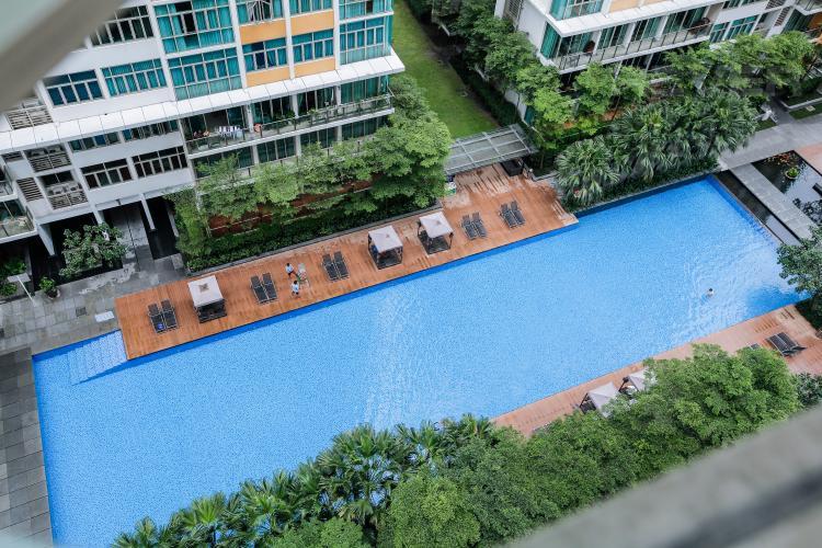 kt0384.jpg Căn hộ The Vista 2 phòng ngủ tầng cao tòa T4 view hồ bơi