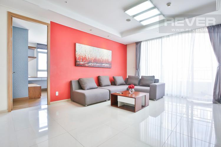 Phòng Khách Căn hộ Cantavil Premier 3 phòng ngủ tầng trung D1 đầy đủ nội thất