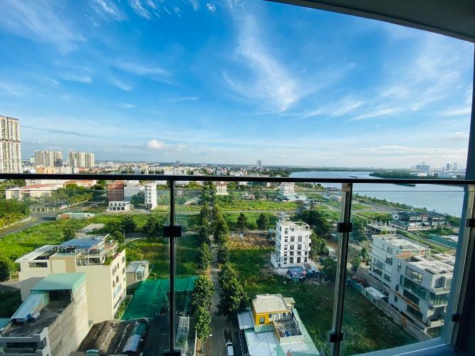 View căn hộ One Verandah, Quận 2 Căn hộ One Verandah tầng 12 view thành phố, view sông thoáng mát.