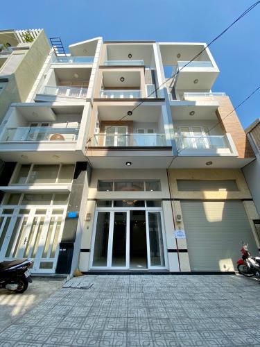 Cho thuê nhà nguyên căn hẻm Huỳnh Tấn Phát, phường Phú Thuận, Quận 7, diện tích 60m2, hẻm ô-tô quay đầu