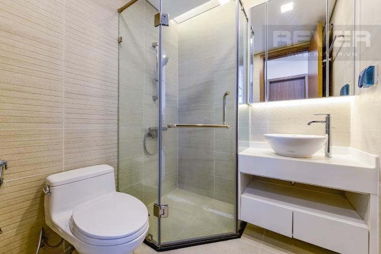Phòng tắm 1 Căn hộ Vinhomes Central Park tầng cao Park 1 nội thất cơ bản