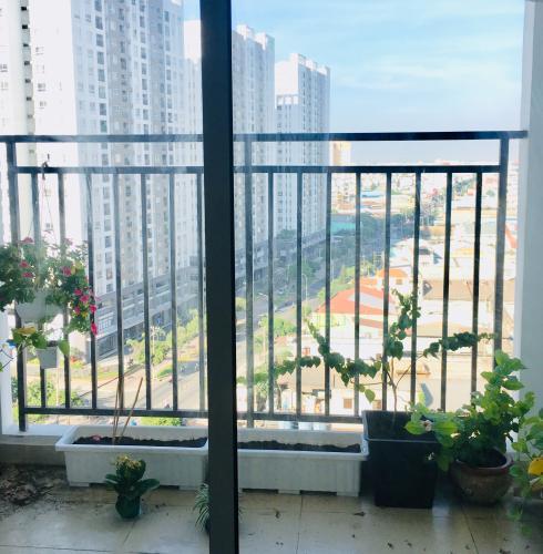 Ban công căn hộ RICHSTAR Bán căn hộ RichStar Tân Phú 2PN, diện tích 65m2, đầy đủ nội thất, view thành phố