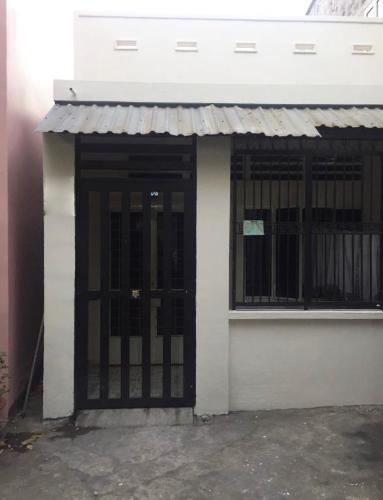 trước nhà nhà phố Bình Thạnh Bán nhà phố hẻm đường Phan Văn Trị, không có nội thất