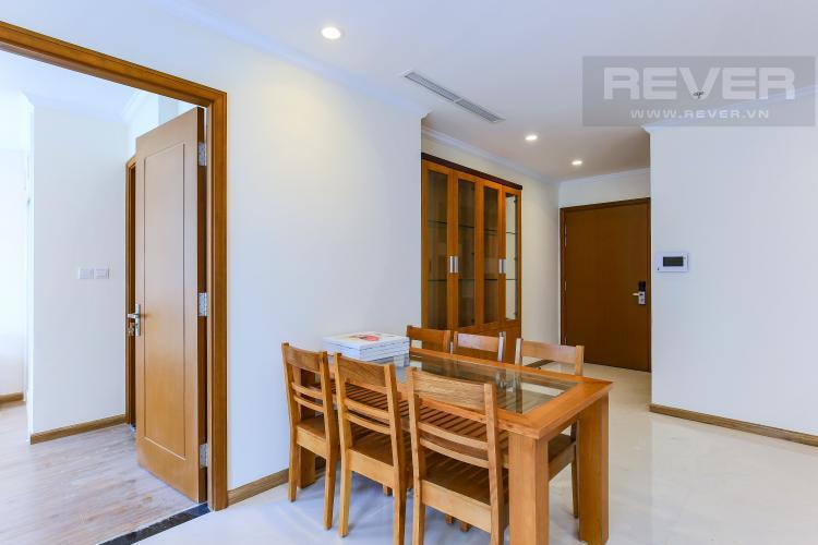 Bàn Ăn Căn hộ Vinhomes Central Park 3 phòng ngủ tầng cao L2 đầy đủ nội thất