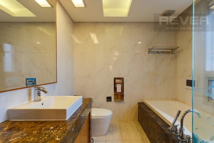Phòng Tắm 1 Căn hộ Xi Riverview Palace 3 phòng ngủ tầng trung block 101 nội thất có sẵn