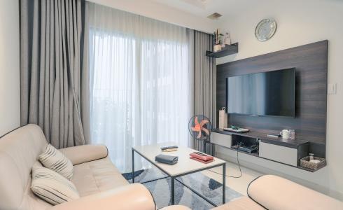Bán căn hộ M-One Nam Sài Gòn tầng trung, 2PN đầy đủ nội thất