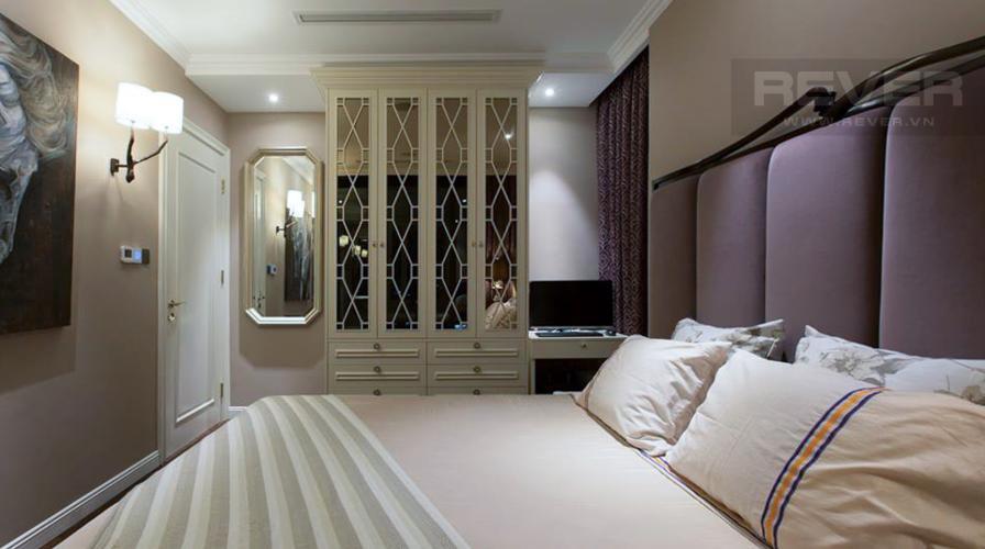 Phòng Ngủ 1 Cho thuê căn hộ Vinhomes Golden River 2PN, đầy đủ nội thất, thiết kế sang trọng