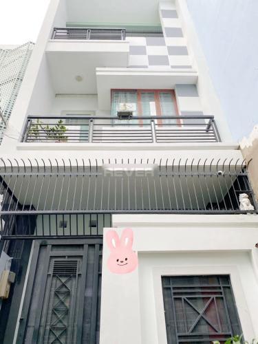 Mặt tiền nhà Nơ Trang Long  Nhà phố hẻm Bình Thạnh, sân thượng rộng, nội thất cơ bản.