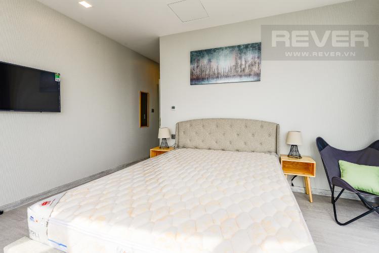 Phòng ngủ 2 Căn hộ Vinhomes Golden River tầng trung, tháp Aqua 3, 3PN, full nội thất