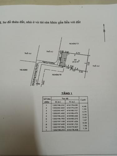 Bản vẽ nhà phố Hoàng Hữu Nam, Quận 9 Nhà phố hẻm Hoàng Hữu Nam đầy đủ nội thất, hướng Đông Bắc.