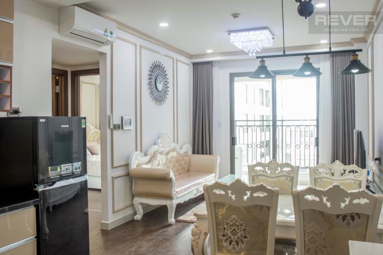 Phòng Ăn Bán hoặc cho thuê căn hộ Saigon Royal 1PN, tháp A, đầy đủ nội thất, view hồ bơi
