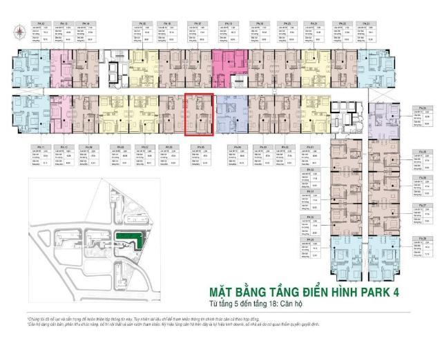 Layout Picity High Park, Quận 12 Căn hộ Picity High Park tầng trung, bàn giao nội thất cơ bản.
