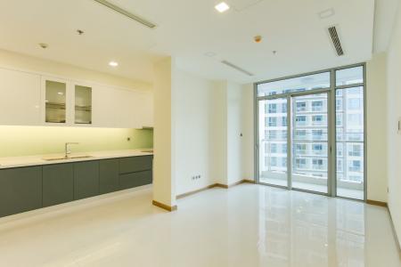 Căn hộ Vinhomes Central Park tầng trung Park 2 mới bàn giao, nội thất cơ bản