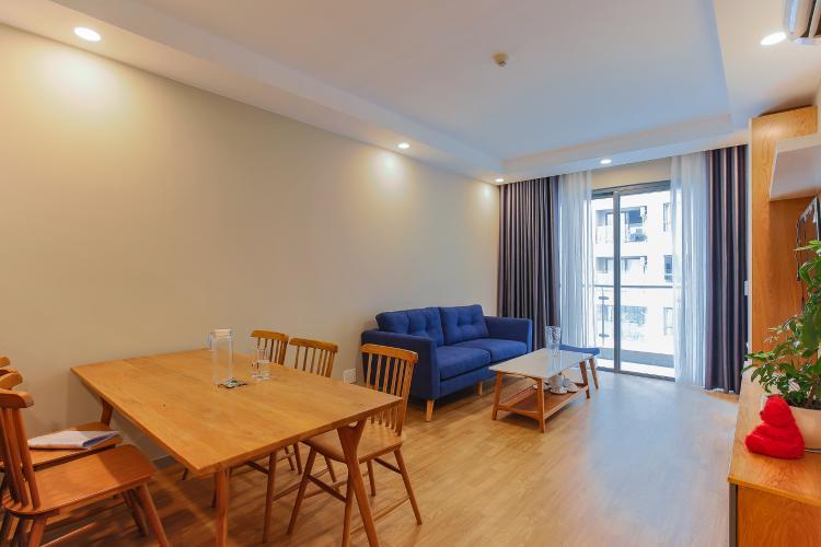 Căn hộ The Gold View 2 phòng ngủ tầng trung A3 view nội khu