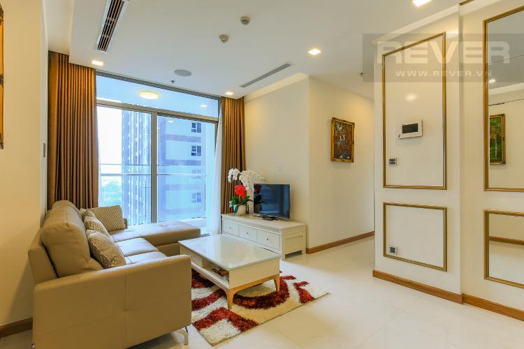 Phòng Khách Căn hộ Vinhomes Central Park tầng thấp 2 phòng ngủ Park 6