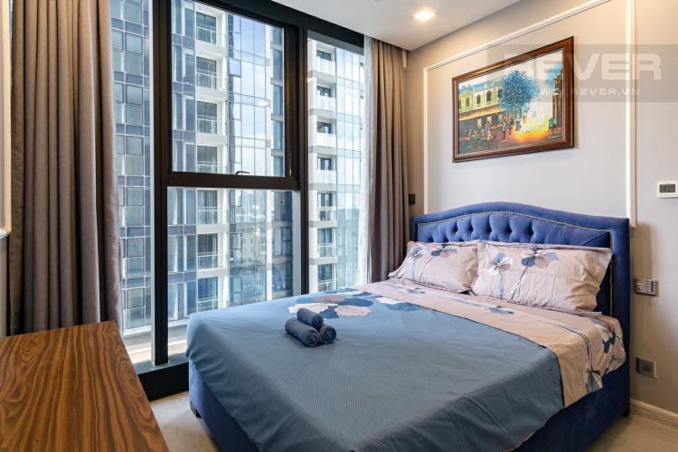 Phòng Ngủ 1 Cho thuê căn hộ Vinhomes Golden River 2PN, tầng thấp, tháp The Aqua 1, đầy đủ nội thất