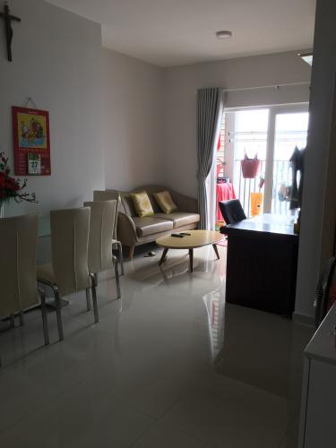 Căn hộ tầng cao chung cư An Gia Star bàn giao nội thất cơ bản.