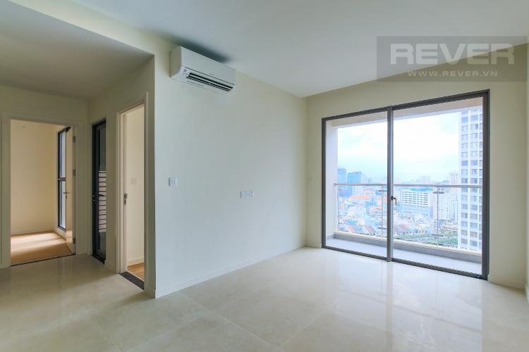 Phòng Khách Bán căn hộ Masteri Millennium tầng cao, 2PN, liền kề trung tâm Quận 1